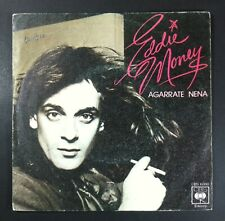 """Eddie Money Baby Hold On / Save A Little Room IN Your Heart Spain Vinyl 7 """" CBS"""