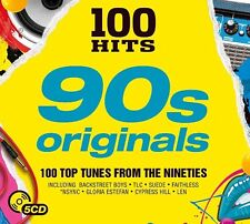 Various - 100 Hits - 90s Originals (2017)  BRAND NEW SEALED 5CD