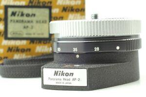 【 N.MINT / BOXED 】 NIKON AP-2 PANORAMA HEAD From JAPAN