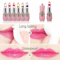 Women Lipstick Color Changing Lip Gloss Lip Makeup Long Lasting Moisturizer Gift