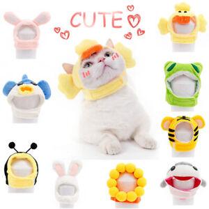 Soft and Cute Cat Headgear Dog Cross Dress Cute Small Animal Pet Hat Cat MN