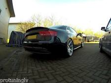 Audi A5 2007-2015 Coupe 2D rear Spoiler Lip Trunk S5 tail duck bill duckbill rs