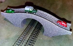 Track Z Bridge Stone Flyover Bridge arches Laser Engraved