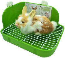 "Rabbit Cage Litter Box Toilet Square Potty Trainer Corner Bedding Pet Pan 11.4"""""