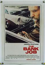 THE BANK JOB DS ROLLED ADV ORIG 1SH MOVIE POSTER JASON STATHAM (2008)