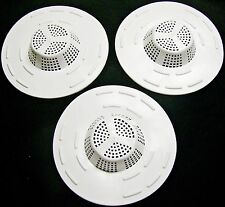 3 LOT HAIR SNARE TRAP DRAIN SINK STRAINER BATHTUB SHOWER SCREEN USA - HAIR BULK