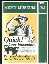 ARMY MUSEUM 1983  Journal UK National Army Museum     SB     of