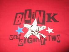"Blink 182 ""One Eighty Two"" Concert Tour (Lg) T-Shirt Mark Hoppus Travis Barker"