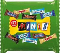 Mars Super Fun Size Mix 71 Bars Variety Assorted Minis Chocolate Bars Pack 1.4kg