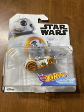 Disney Star Wars Bb-8 Collector Hot Wheels Character Cars Black New