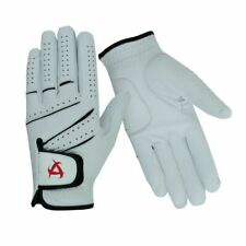 All-Cabretta Leather Golf Glove Men's Regular Sizes All weather