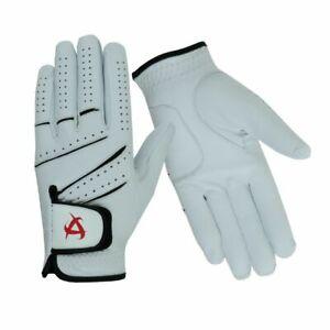 All-Cabretta Leather Golf Glove Men's Regular Sizes All weather