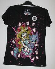 Cupcake Cult souhait il était vendredi T-shirt Punk Hannibal sang emo goth Tee Top