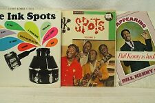 Lot LP RECORDS THE INK SPOTS aujourd'hui apparaissant Bill KENNY est dos Sings