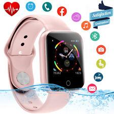 Bluetooth Smartwatch für Damen Sports Armbanduhr wasserdicht für Android ios