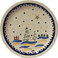 "Polish Pottery Dinner Plate 11"" GU1014/182a from Zaklady Boleslawiec"