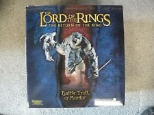 Lord of the Rings Battle Troll of Mordor by Sideshow Weta