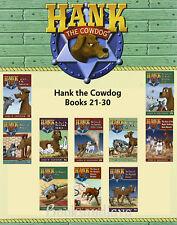 Hank the Cowdog The Case of the Vampire Cat 21-30 by John R Erickson 10 Book Set
