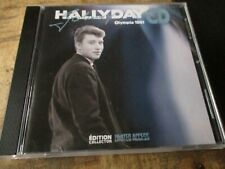 Johnny Hallyday-Rare Collector Hors commerce-Olympia 61-Limited Access