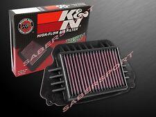 K&N HA-6414 Hi-Flow Air Intake Filter for 2014-2016 Honda CBR650F CB650F
