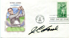 AUTOGRAPHED J. C. Snead FDC