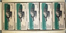 """5 each New Hitachi 4"""" Angle Disc Grinder 10,000Rpm 110V w/Wrench and Disc G10Sr3"""