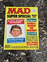 VINTAGE MAD Comic Magazine SUPER SPECIAL WINTER 1980 W/ STICKERS