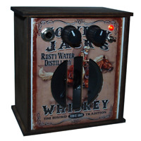 Cigar box Guitar Amp Distortion effect Custom wooden box