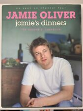 JAMIE OLIVER Jamie's Dinners The Essential Cookbook Hardcover Book Cooking