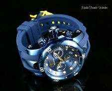 Invicta Reserve Womens 42mm Venom Blue Label SwissQuartz Chronograph Strap Watch