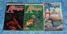 The Avenger Kenneth Robeson Vintage Paperback Book 3 Lot in Excellent Condition