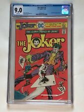 The JOKER #5 CGC 9.0 Alfred Royal Flush Gang Cover 1976 1st Solo Joker DC Title