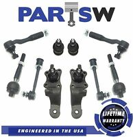 e6c415a6088 10 Pc Complete Front Suspension Steering Kit For Toyota Tundra 2000 2001  2002