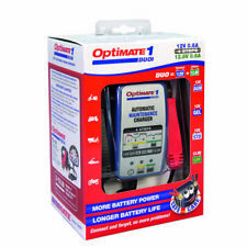 OptiMate 1 Duo Motorcycle AGM GEL Lithium 12V Battery Charger Optimiser
