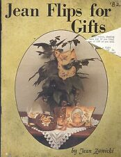 Jean Flips For Gifts Tole Painting Book Zawicki Spice Cabinet Boot Jack Jar Lids