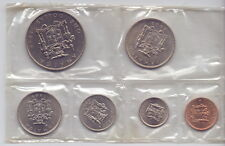 Jamaica - Satz/KMS 1+5+10+20+25 Cents+1 Dollar 1969 - UNC