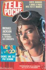 ▬► Télé Poche 1191 (1988) Michael Jackson_Santa Barbara_Richard Clayderman