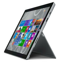 Microsoft Surface Pro 3 - 64GB - Wi-Fi Only - 12in - Silver Tablet - Very Good