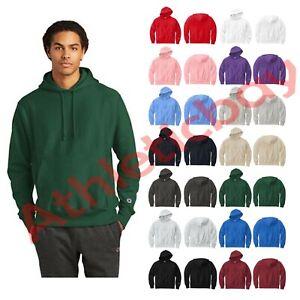 New Men's Champion Hoodie Sizes S-4XL Soft Reverse Weave Hooded Sweatshirt