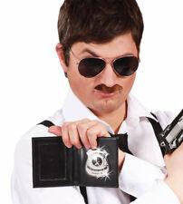 Fancy Dress Police Wallet & Badge Cop Warrant Card Detective ID Cop