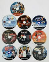 Mixed Lot of 10 PS2 DISCS ONLY Games Sony PlayStation 2 UNTESTED