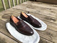 Allen Edmonds Randolph shell cordovan 12.5D loafer burgundy great condition