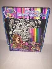Lisa Frank Glitter Messenger Bag Color Me Your Way