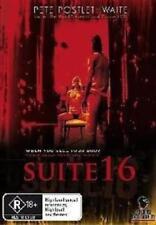 Sex Theme Thriller Movie - SUITE 16 (DVD) R18+ RARE OOP_Pete Postlethwaite