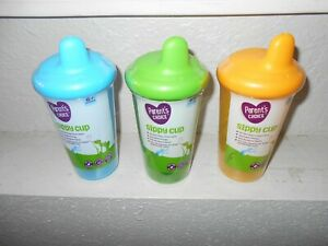 Parent's Choice Three 9 Oz Sippy Cups