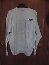 Grey WOR Radio 710 AM - Home of the Mets - Sweatshirt Size 2XL, Made in USA XXL