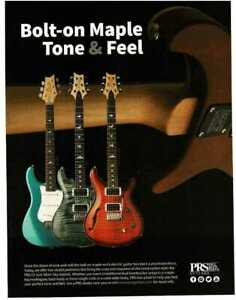 2019 PRS CE and Silver Sky Electric Guitar Magazine Ad