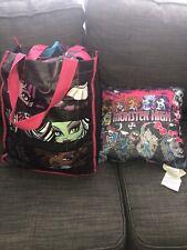 Monster High Sleepover Tote Set Sleeping Bag