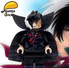 MANGA BRICK Custom Black Jack Lego Minifigure