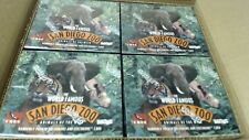 A case of San Diego Zoo Animals of the Wild Trading Card 36 Unopened BOX 8 BOX